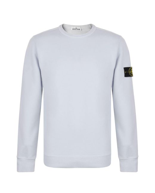 Stone Island - Multicolor Badge Sleeve Sweatshirt for Men - Lyst