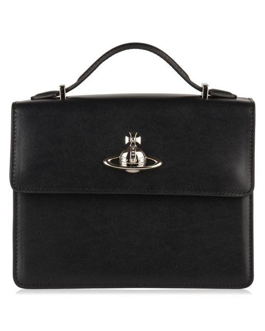 Vivienne Westwood - Black Matilda Medium Shoulder Bag - Lyst