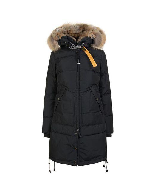 Parajumpers Multicolor Long Bear Fur Coat