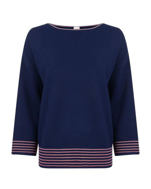 BOSS by Hugo Boss - Blue Itelina Knitted Jumper - Lyst