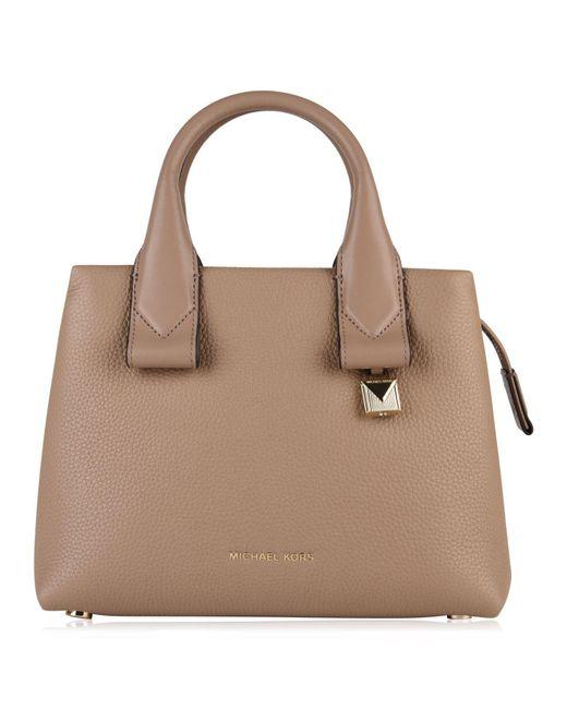19dd88046301 MICHAEL Michael Kors - Brown Rolins Small Bag - Lyst ...