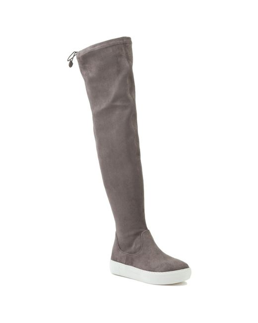 J/Slides - Gray Suede Sneaker Boot - Lyst