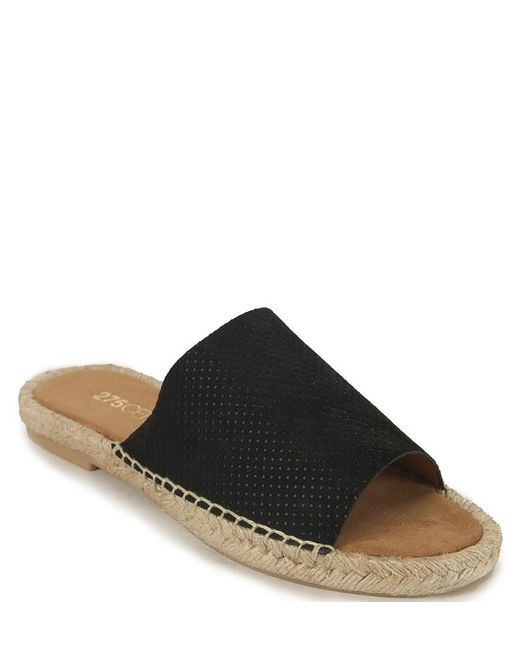 275 Central - Black Espadrille Slide - Lyst