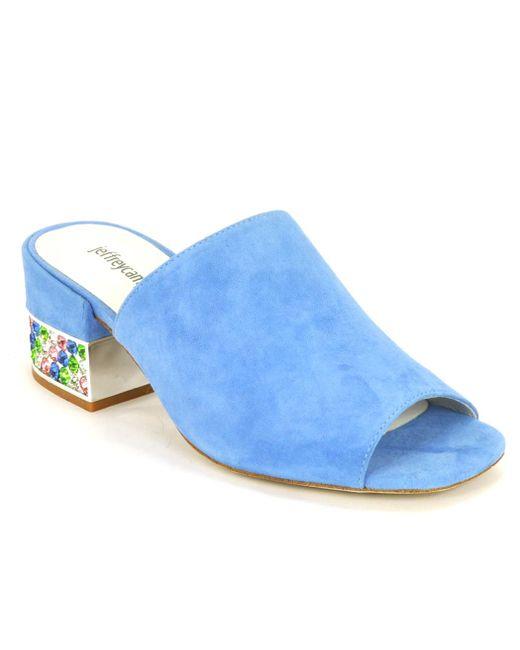 Jeffrey Campbell - Blue Suede Embellished - Lyst