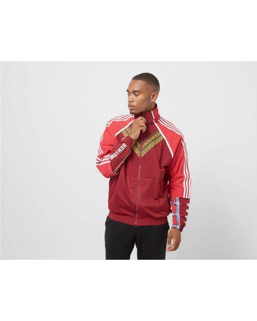 a2860e0863 Adidas Originals - Red By Pharrell Williams Solarhu Tt Jacket for Men - Lyst  ...