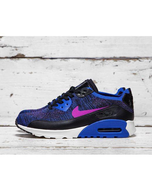 Nike | Blue Air Max 90 Ultra Flyknit 2.0 | Lyst