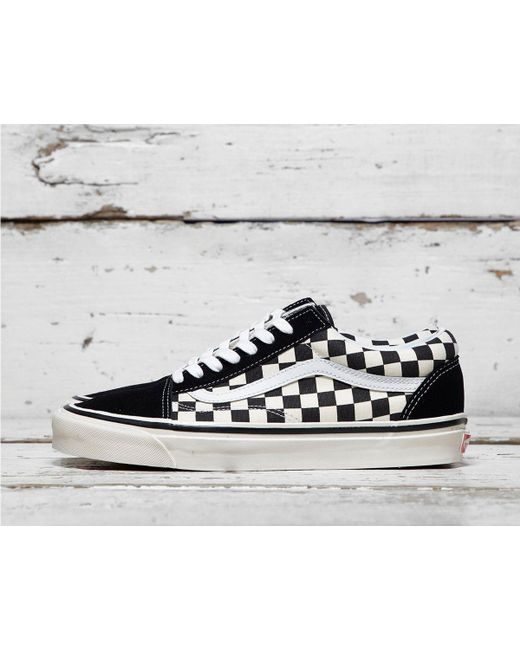 Vans - Black Anaheim Old Skool Checkerboard for Men - Lyst