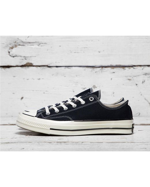 de536ec6d621 Converse - Black Chuck Taylor All Star 70 s Ox Low for Men - Lyst ...