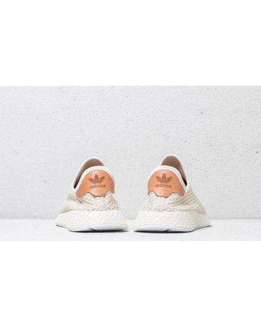 0214d6fe4 ... Adidas Originals - Adidas Deerupt Runner Cloud White  Ash Pearl  Cloud  White for Men ...