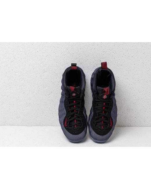 9b1e649aea1 ... Nike - Air Foamposite One Obsidian/ Black-university Red for Men - Lyst  ...