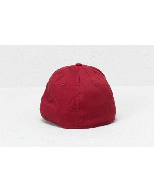 c4814a8780e ... KTZ - 39thirty Mlb League Essential Boston Red Sox Cap Cardinal for Men  - Lyst ...