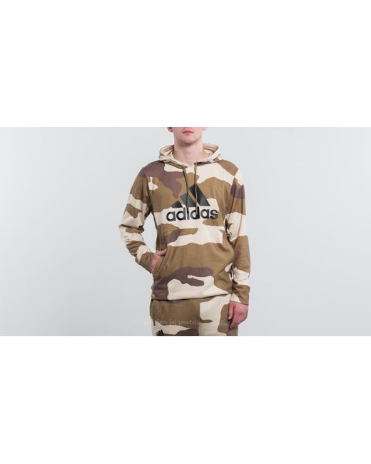 Footshop - Natural Adidas X Undefeated Tec Hoodie Dune/ Tactile Khaki/ Base Khaki for Men - Lyst