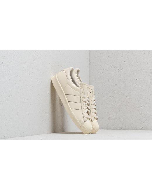 newest a8b8f 13b88 Adidas Originals - Natural Adidas Superstar 80s Cream White  Cream White   Cream White for ...