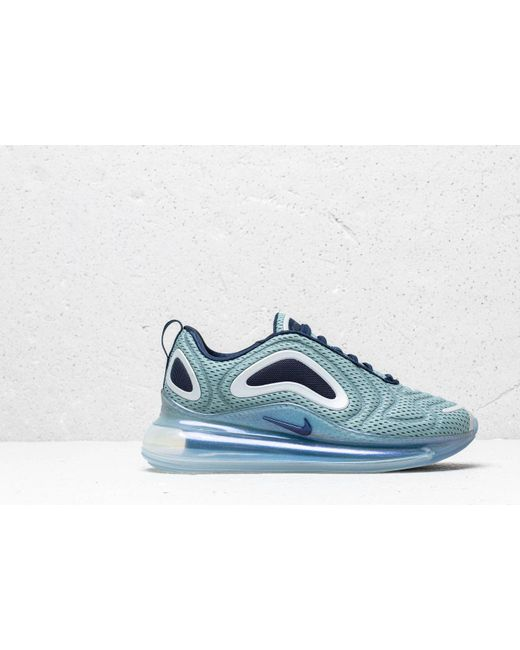 35ee44b6f4 ... Nike - Blue W Air Max 720 Metallic Silver/ Midnight Navy - Lyst ...