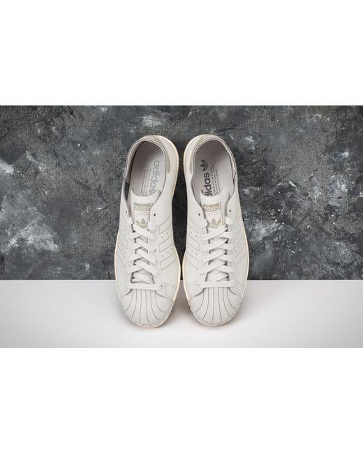 Lyst adidas Originals Adidas Superstar 80s decon W gris / gris