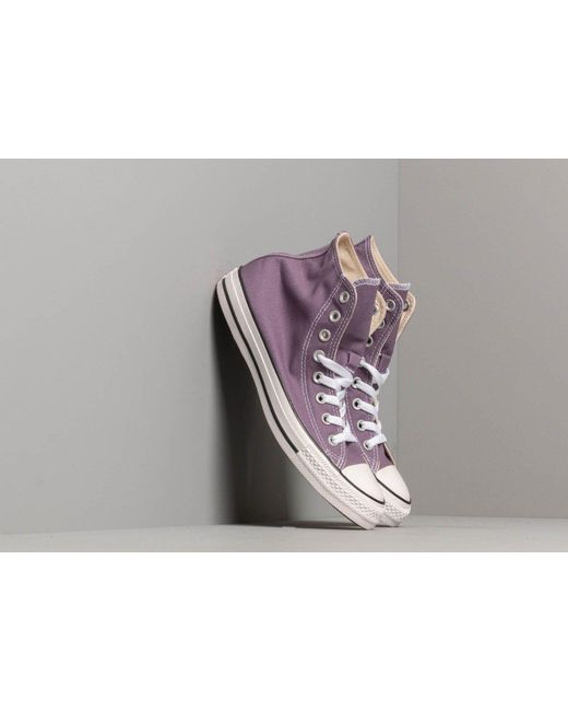 7fa0054ec Converse Chuck Taylor All Star Moody Purple in Purple - Lyst