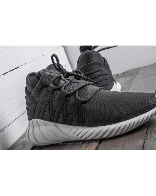 Adidas TUBULAR RUNNER BLACK unboxing on feet