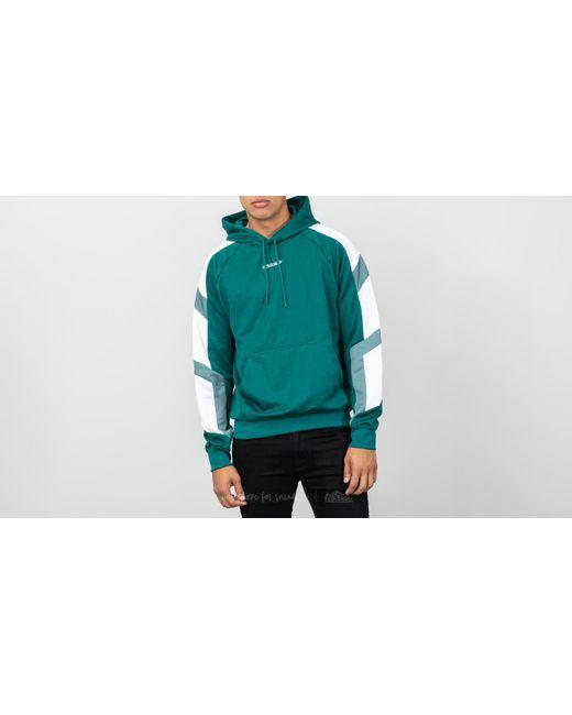 dbbbec1c31e9 Adidas Originals - Equipment Block Hoody Hoodie Noble Green for Men - Lyst  ...