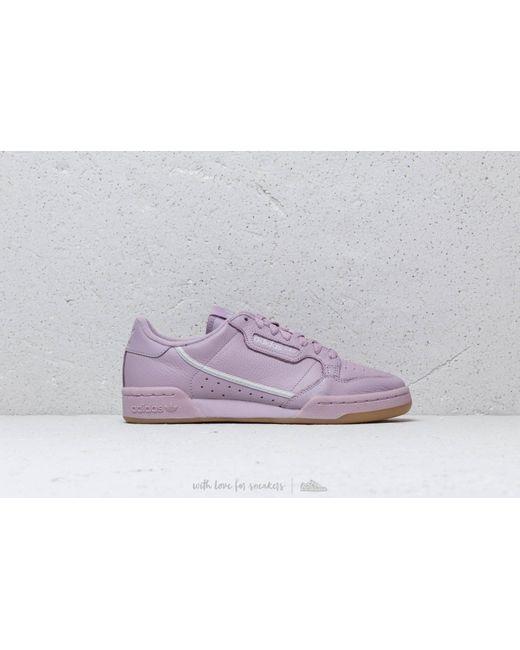 615310b668ff ... Adidas Originals - Gray Adidas Continental 80 W Pink  Grey One  Grey  Two ...