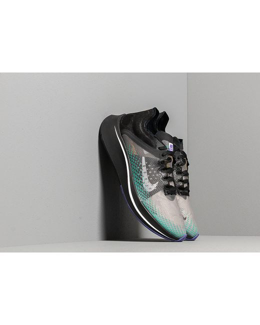 the latest 2a5de c2ae5 Nike - Zoom Fly Sp Fast Black  White-hyper Jade for Men - Lyst ...