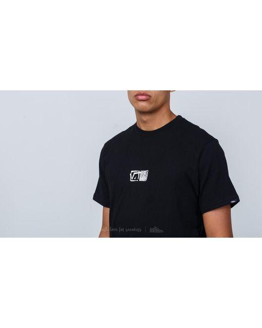4c790968ac Lyst - Vans Vintage Square Tee Black in Black for Men