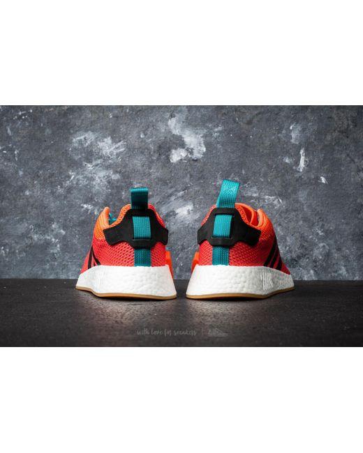 adidas Adidas NMD_R2 Summer Trace Orange/ Gum/ Cloud White RdcVAx