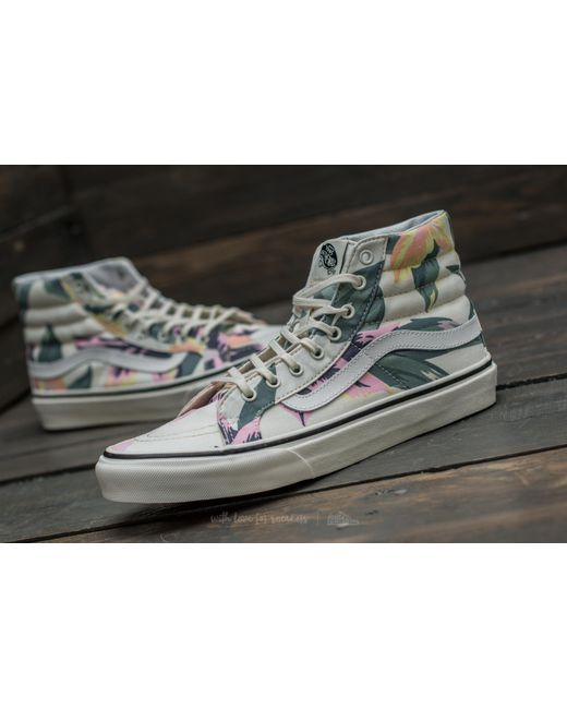 Vans sk8hi ZIP Classics Indigo Dress Blues MARSHMALLOW MIS. 45