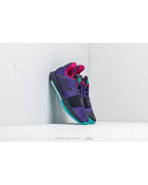 buy popular 3f140 e7b46 Adidas Originals - Adidas Harden Vol.3 Collegiate Purple Core Black Hi-  ...