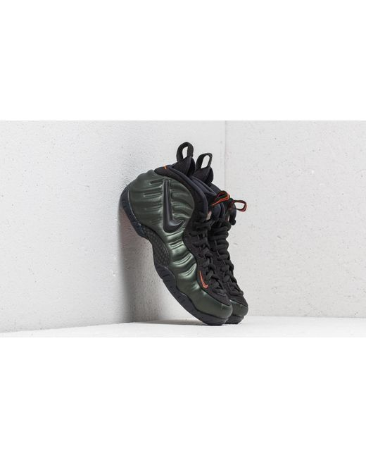 b34cc939afd78 Nike - Air Foamposite Pro Sequoia  Black-team Orange for Men - Lyst ...