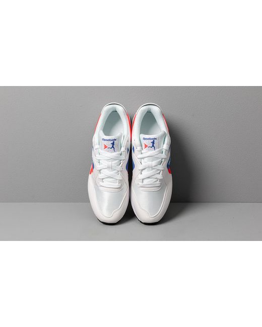 Women's Reebok Pyro White Neon Red Cobalt