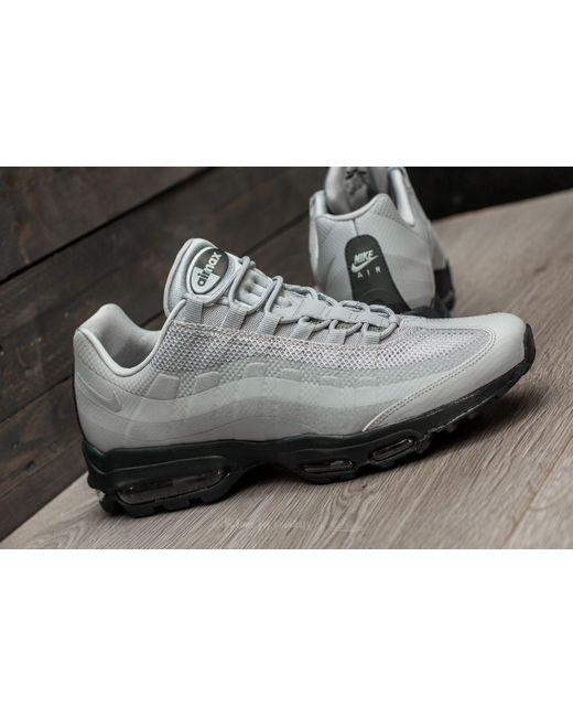 nike air max 95 ultra essential wolf grey