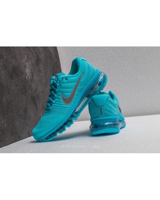 ... Nike - Air Max 2017 (gs) Polarized Blue/ Metallic Silver - Lyst ...