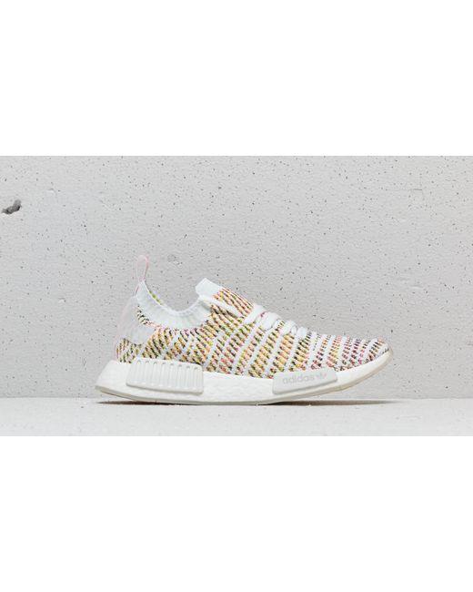 the best attitude 50544 71989 ... Adidas Originals - White Nmd r1 Stlt Primeknit Shoes - Lyst ...