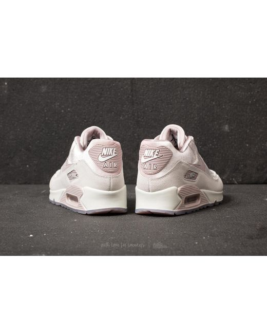 ... Nike - Pink Wmns Air Max 90 Lx Particle Rose/ Particle Rose - Lyst ...