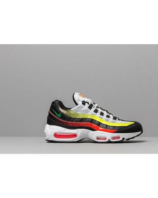 c56a76b682fe ... Nike - Air Max 95 Se Black  Aloe Verde-bright Crimson-volt for ...