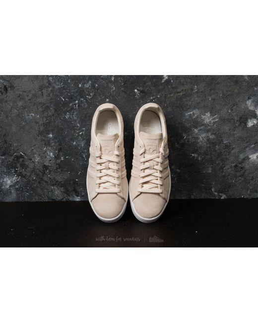 low cost 5bb3b 71cd6 ... Adidas Originals - Adidas Campus Stitch And Turn Chalk White Chalk  White Ftw White ...