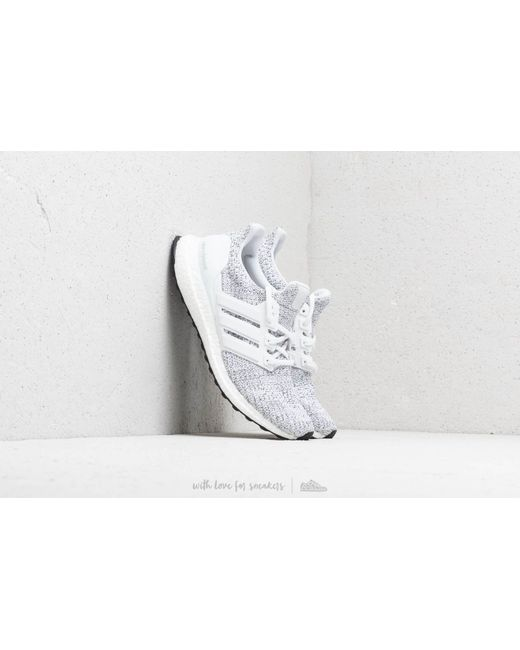 best website 19898 3f349 Adidas - White Ultraboost Shoes for Men - Lyst ...