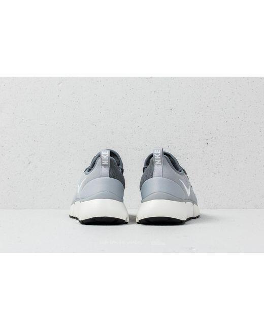 74f1f714db270 Nike SportswearPOCKET FLY - Trainers - wolf grey white cool grey sail