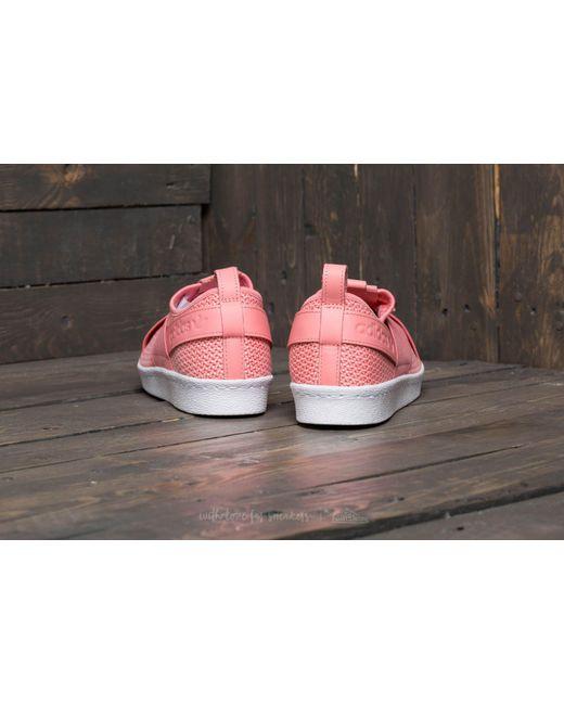 ... Adidas Originals | Pink Adidas Superstar Slip On W Tactile Rose/  Tactile Rose/ Footwear ...