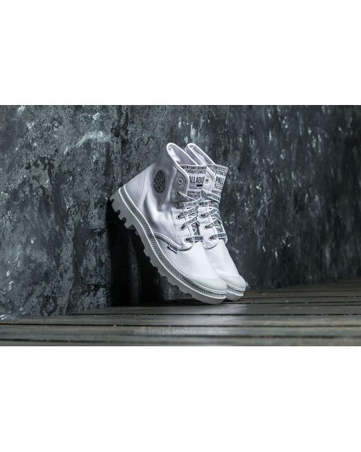 Footshop | Palladium W Pampa Hi White/ White | Lyst