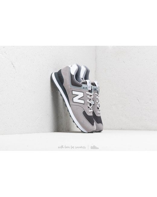 f63603a6d8 New Balance - Gray 574 Grey/ White for Men - Lyst ...