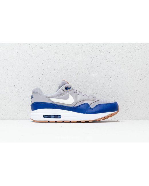 new concept 04447 8a89a ... Nike - Gray Air Max 1 (gs) Atmosphere Grey Sail - Lyst ...