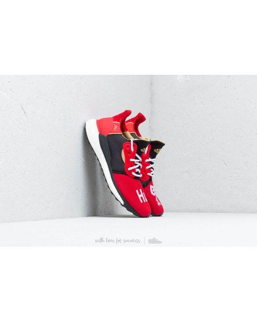 0740f345a1c5 Adidas Originals - Adidas X Pharrell Williams Solar Hu Glide Cny Red  Core  Black for ...