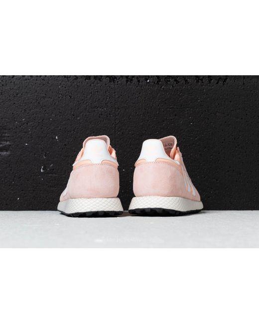 big sale b3bd4 68154 ... Adidas Originals - Pink Adidas Forest Grove W Clear Orange Cloud White  Core Black ...