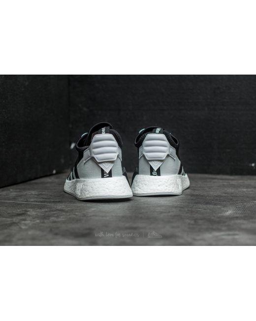 adidas originals nmd r2 primeknit men's black