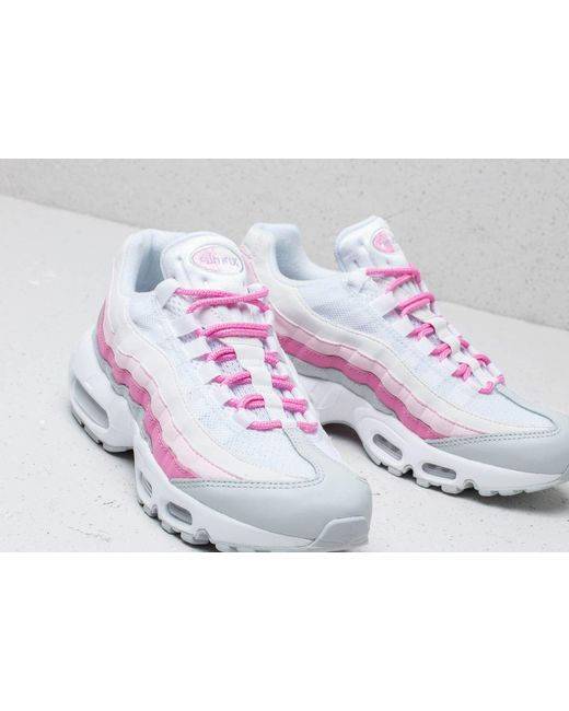 100% authentic 730a1 02faf ... Nike - W Air Max 95 Essential White  White-psychic Pink-pure Platinum