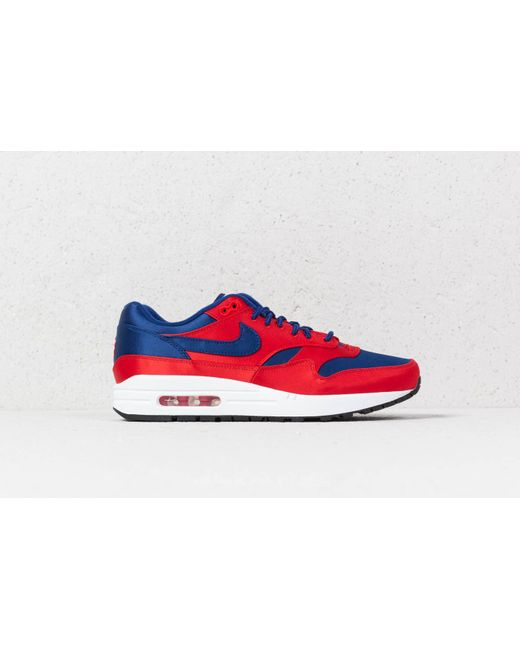 310fa907a4a5 ... Nike - Air Max 1 Se University Red  Deep Royal Blue for Men - Lyst ...