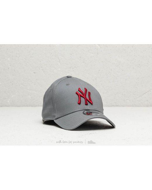 f9d9bd1f911 KTZ - Gray 39thirty Mlb New York Yankees Essential Grey for Men - Lyst ...