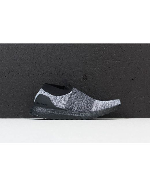 7988a6ee4 ... Footshop - Adidas Ultraboost Laceless Core Black  Core Black  Ftw White  for Men ...