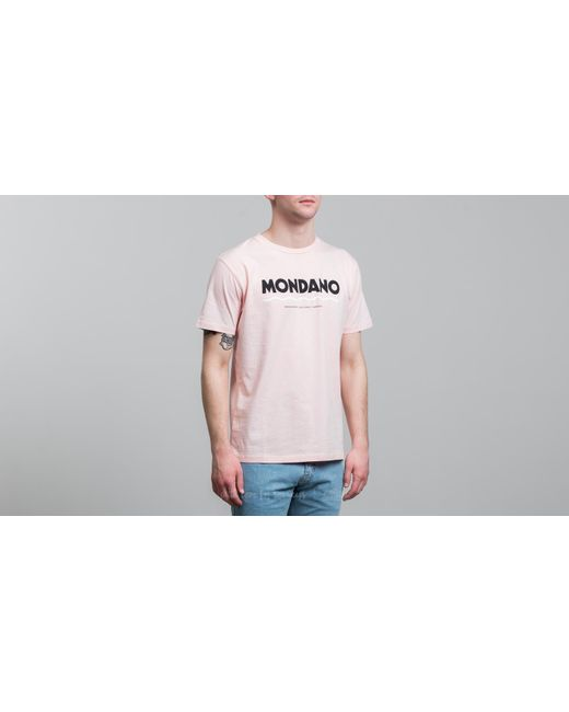 WOOD WOOD - Mondano T-shirt Light Pink for Men - Lyst